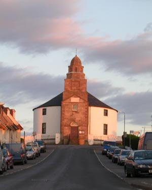 The Church at Bowmore on Islay