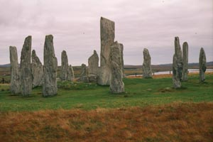 Standing Stones on the Isles of Lewis