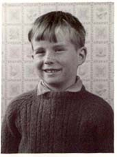 Willie Wallace as a boy