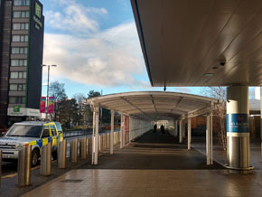 Glasgow Airport Covered Walkway
