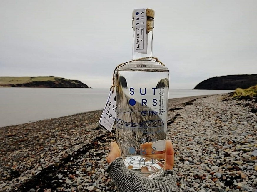 Sutors Gin Bottle